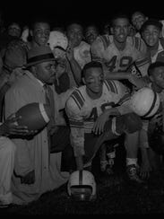 Jesse Jackson (40) at Sterling High's homecoming vs.