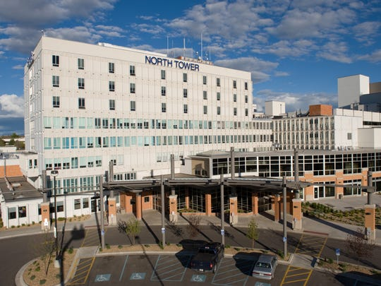 The North Tower of  Benefis Health System was remodeled