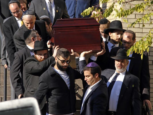 Shooting Synagogue Funerals