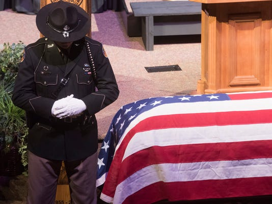Greg Evers Funeral