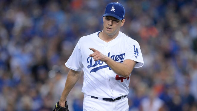 """""""I gave them their time to voice their opinion,"""" Rich Hill said of his pause around the mound as Dodger Stadiuim fans booed Yuli Gurriel during Game 6."""