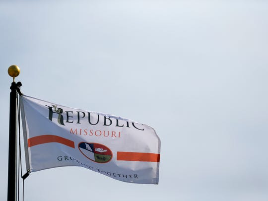 Republic redesigned its city flag as the flag supply