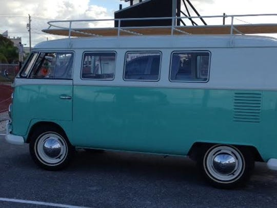 Vero Beach native, Jake Owen is driving from Nashville to Key West in this 1966 Volkswagon bus to promote his new single.