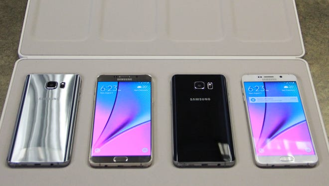 Samsung hopes its new S6 edge+ and Galaxy Note5  are big hits.