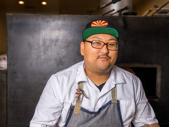 Donald Hawk, sous chef at The Gladly and co-founder