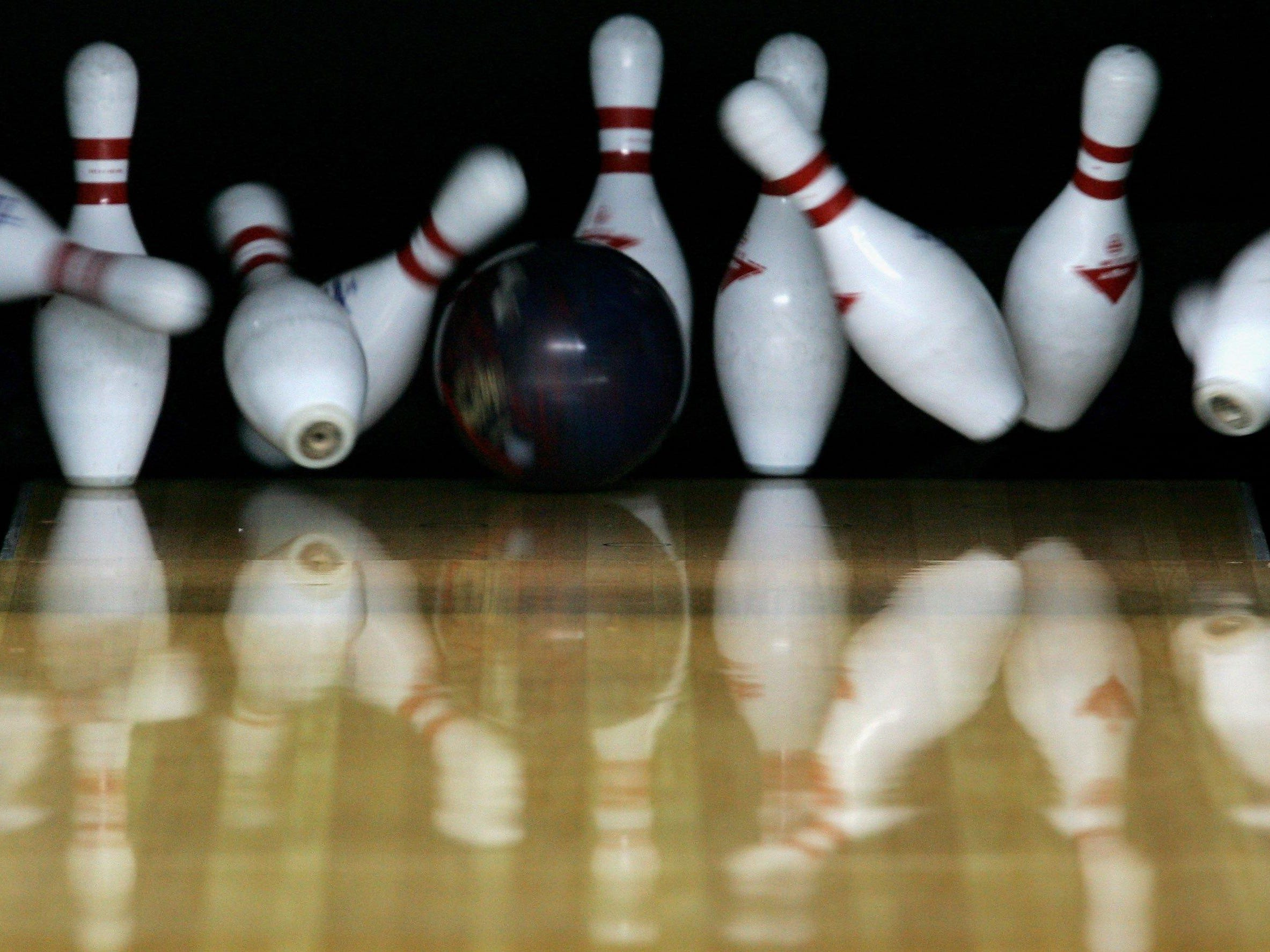 Bowling was part of the area's prep action Tuesday.