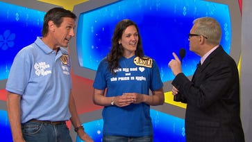 "Visalia resident Donald Goforth (left) appeared on the ""Price is Right' Friday, June 17, 2016."