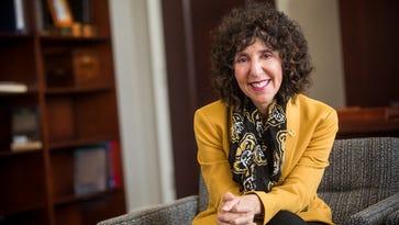 Oakland University president's triumphs, tragedies drew her to school