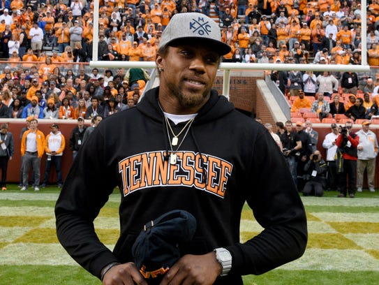 Kansas City Chief and former University of Tennessee