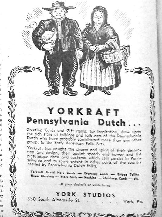 Ad from Pennsylvania Dutchman, August 1946