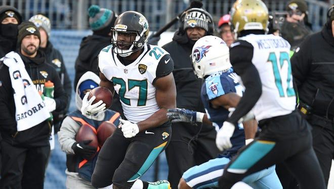 Leonard Fournette leads Jacksonville's No. 1-ranked rushing offense.