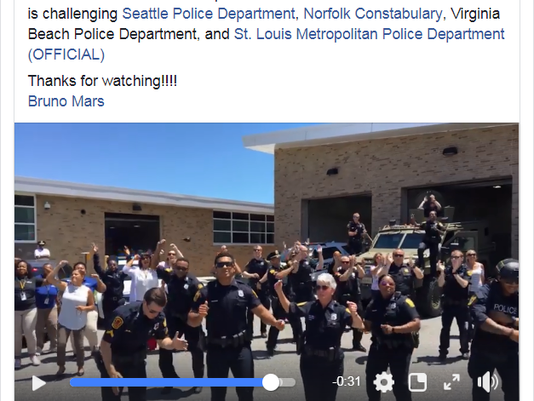 Watch the Norfolk Police Department lip sync battle video advise