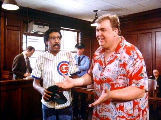 Minor-league pitcher Monty Brewster (Richard Pryor) finds himself in the unlikeliest of high-concept scenarios when a distant relative, recently deceased, bequeaths him $300 million on the condition that he first manage to spend $30 million in 30 days without wasting it — and without telling anybody.