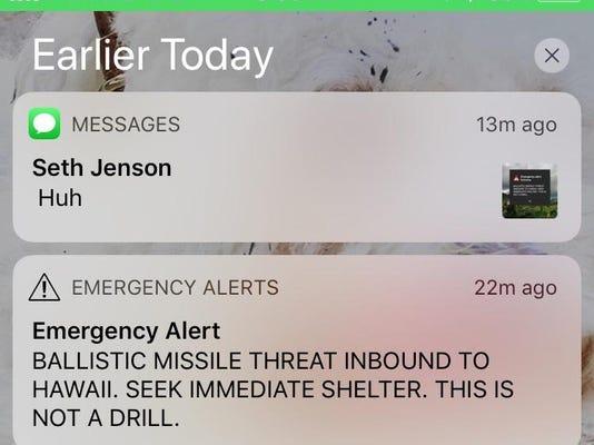 Hawaii Mistaken Missile Alert (2)