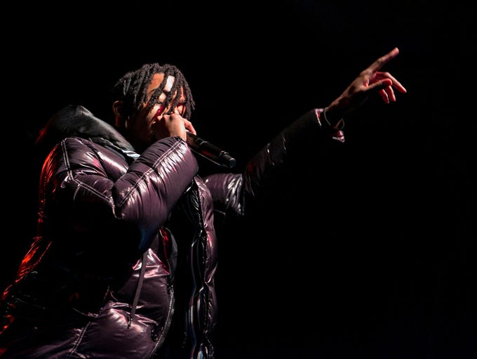Playboi Carti performed at the Rave's Eagles Ballroom