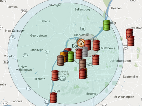 The Courier-Journal created an interactive tool showing