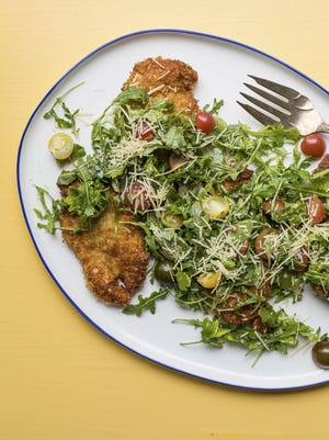 On Mother's Day, treat Mom to spicy chicken Milanese.