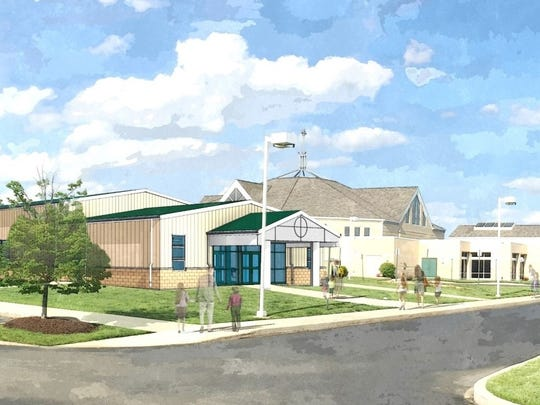 """St. Margaret of Scotland Parish on Friday announced that it will soon break ground on a parish social hall that will give the community a """"much-needed"""" gathering area with a kitchen and space for meetings and events."""
