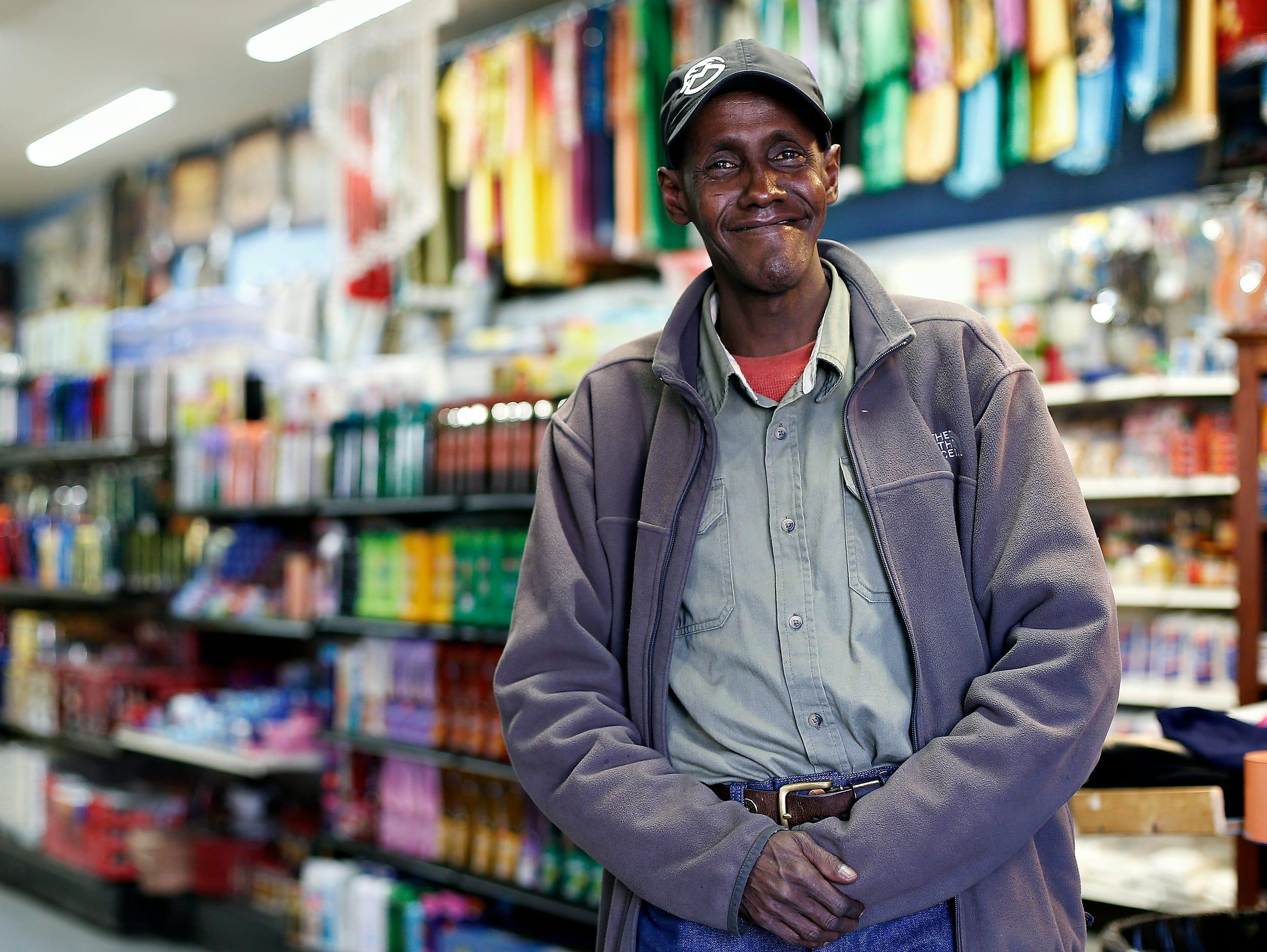 Abdul Kadir Abdullahi mingled in downtown Noel's African