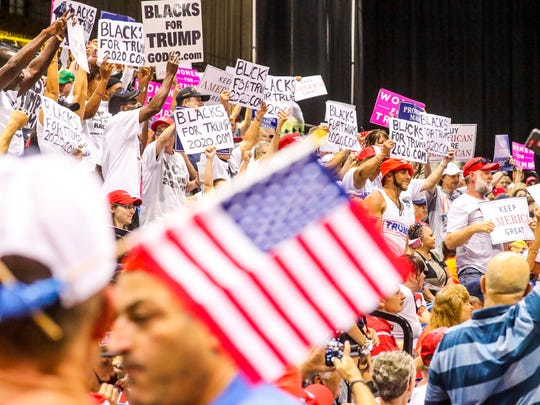 "What some are calling the ""Red Wave"" of President Trump"