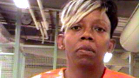 A 2013 booking photo provided by the Orleans Parish Sheriff's Office shows Emma Raine.