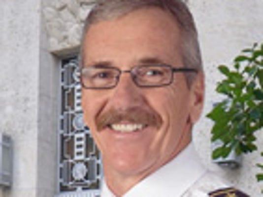 Glendale Fire Chief Terry Garrison