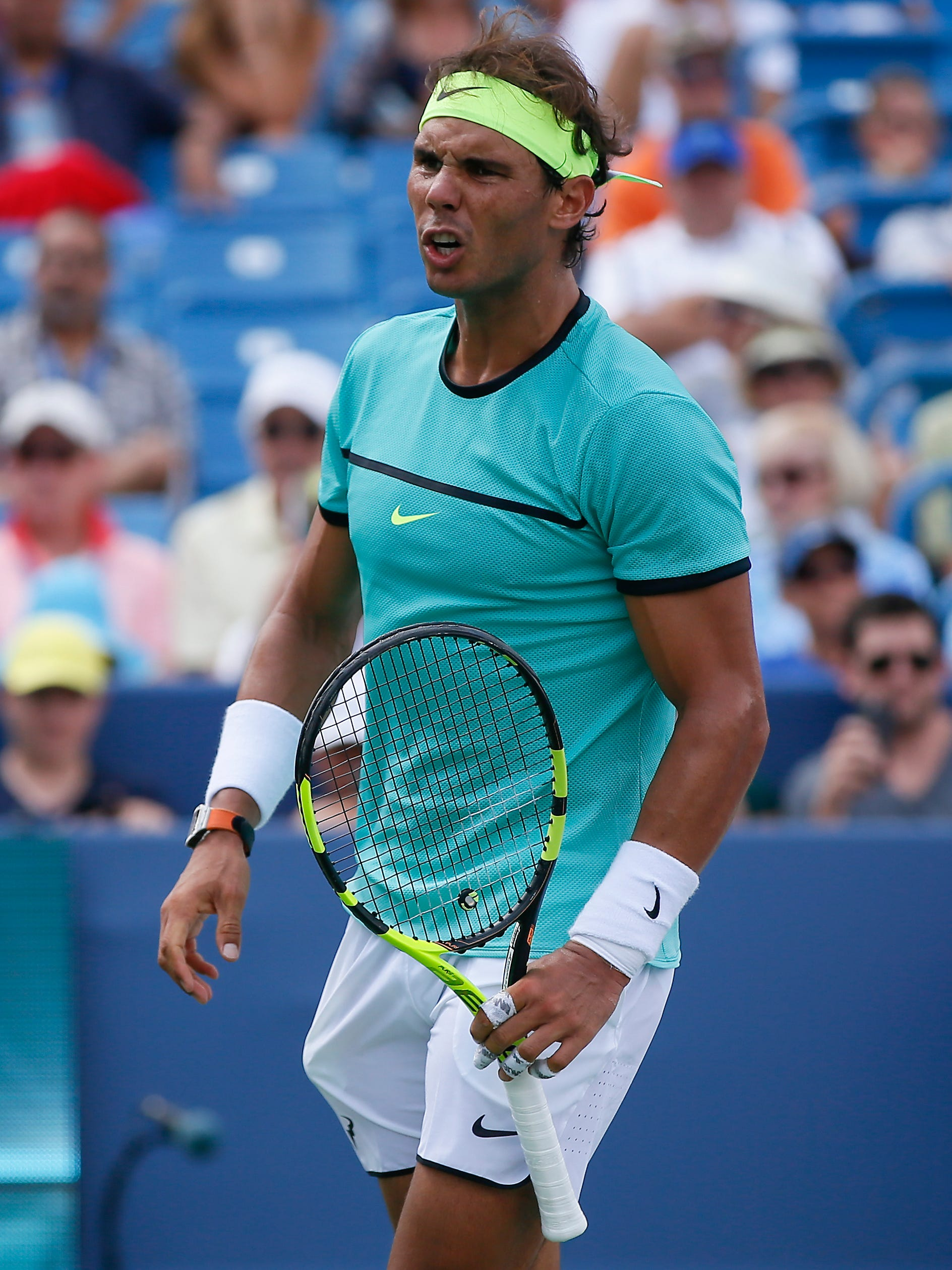 Now I Pay Tired Nadal Loses At W S Open