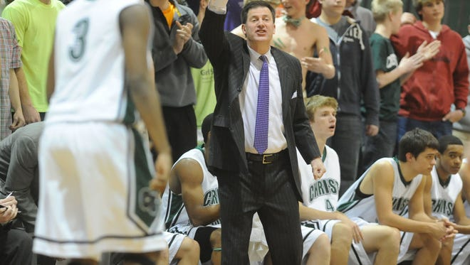 Christ School's David Gaines has won nine state basketball and golf championships at the Buncombe County private school.