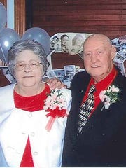 Curvin R. and Patsy A. Harman are celebrating 60 years of marriage.