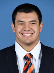 Junior Kaleb Kim played seven games as a backup center