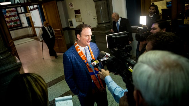 FC Cincinnati President Jeff Berding and the soccer club have received $51 million from the city and county to support building a new stadium. The club also hopes to receive $10 million in state funding.