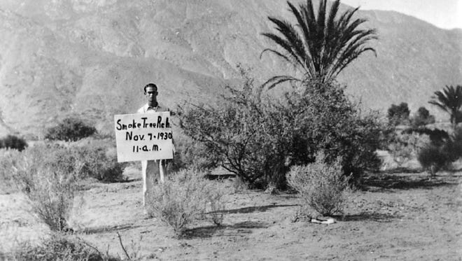 Open desert in 1930 with the start of building the guest ranch.