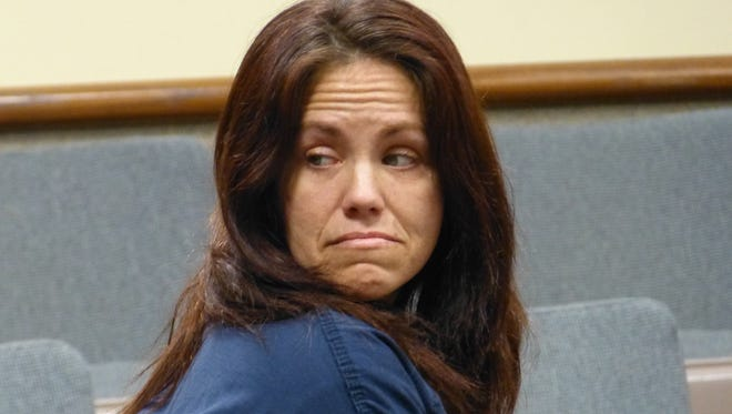 Shanna Culver, shown Tuesday, is one of three defendants charged with murdering a 19-year-old Redding man in 1993.