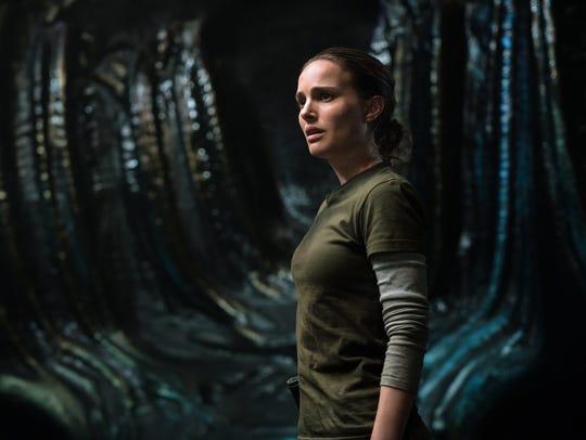 Natalie Portman is a scientist who investigates some