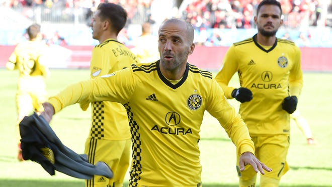 The city and state are trying to prevent the Columbus Crew from leaving town.