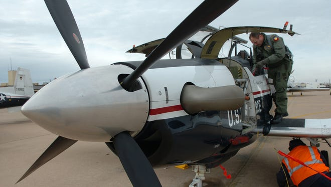 The first two T-6 Texan trainer aircraft arrived at Sheppard Air Force Base early in 2008. The Air Force ended an operational pause Wednesday following an investigation into unexplained physiological events.