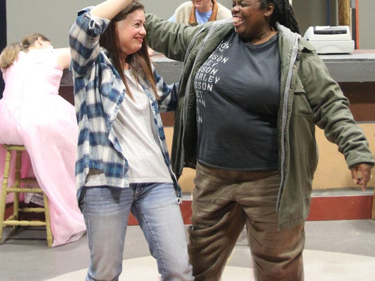 "Riverwalk Theater is producing ""Sweat,"" an adult drama about steel workers fighting for jobs."