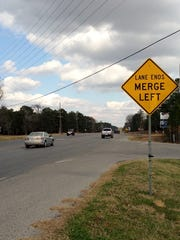 La. Highway 28 East where the road goes from four lanes to two lanes. It's in the state's long-term plans to continue four-laning the road, which could eventually be part of the proposed Interstate 14.