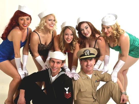 Catch Pin-Ups on Tour, a patriotic WWII-style burlesque and variety show, 9:30 p.m. Saturday, Sept. 9, at Shotski's Woodfired Pizza, 1230 State St.