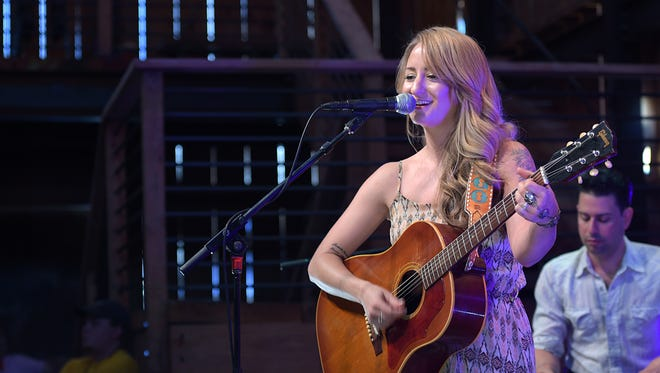 Margo Price performs at HDTV Lodge during CMA Music Festival on Saturday, June 11, 2016.