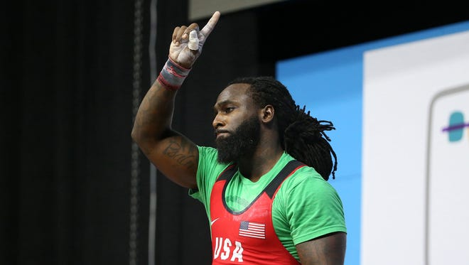 Shreveport's Kendrick Farris will compete in the Olympics for the third time in August.
