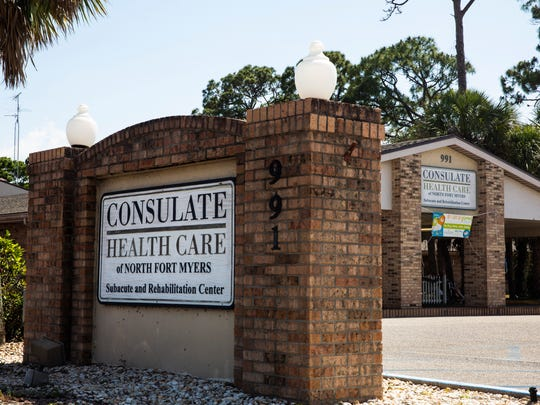 Consulate Health Care of North Fort Myers, as seen on Thursday, May 3, 2018.