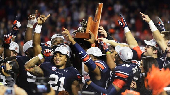 USA Today Sports ranks Auburn with the fifth-best uniforms in college football.