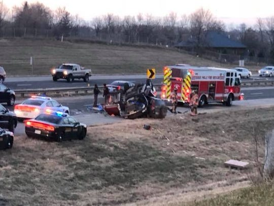 Serious crash reported on Interstate 229 between 10th