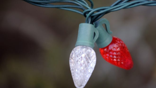 Area hardware stores will recycle strings of Christmas lights.