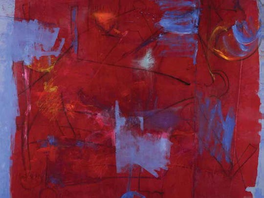Lois Main Templeton compares creating paintings like