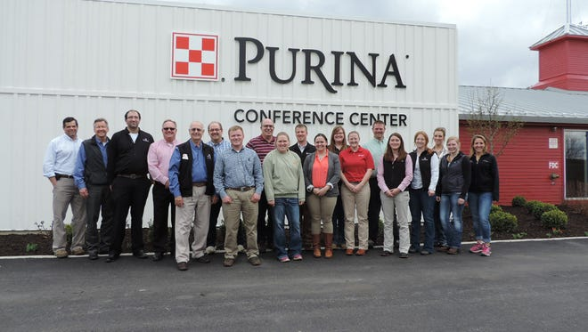 A select group of salespeople from across the U.S. – including locals Christine McFarland and Stephanie Nagel – recently participated in a four-day dairy science training program at the Purina Animal Nutrition Center in Gray Summit, Missouri.