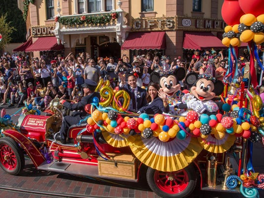 Disneyland Celebrates 90th Birthday of Mickey Mouse