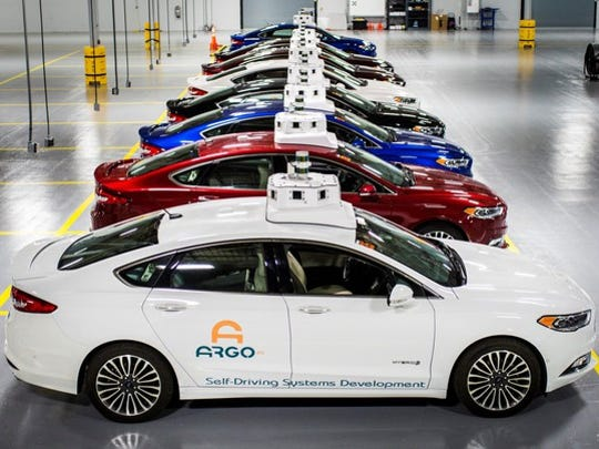 Ford owns a majority stake in Argo AI, a self-driving start-up founded by respected artificial-intelligence experts. Argo AI is leading the development of Ford's self-driving software.