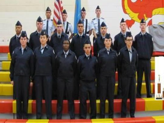 Middletown Air Force ROTCearned six awards in the Glasgow Drill and Colors Competition.